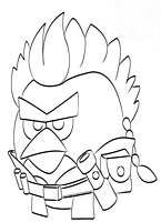 Angry Birds Star Wars Coloring Pages With Images Kolorowanki