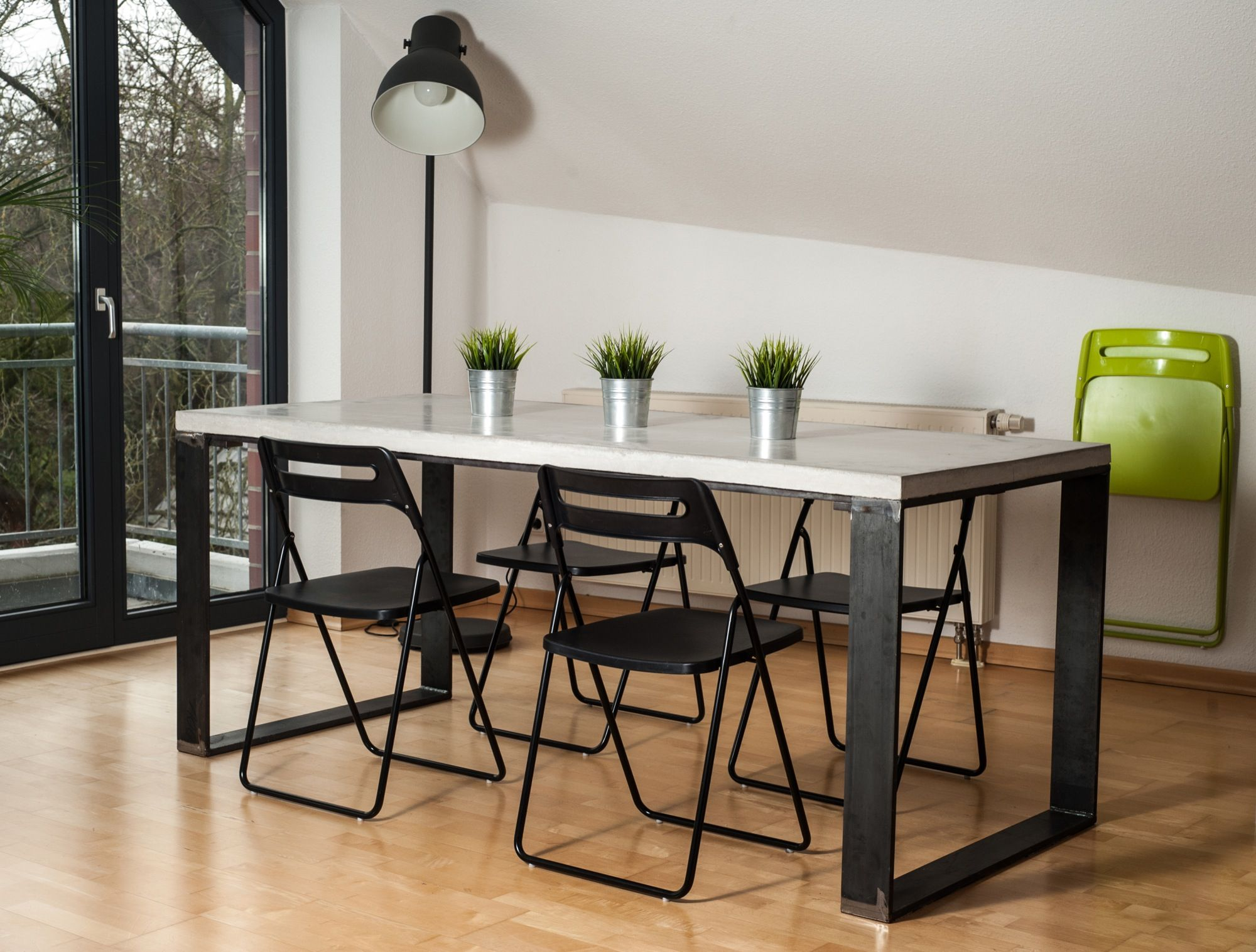 eat is our concrete dining table with