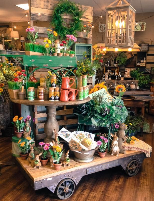 Visual Merchandising. Retail Store Display. Spring. Home