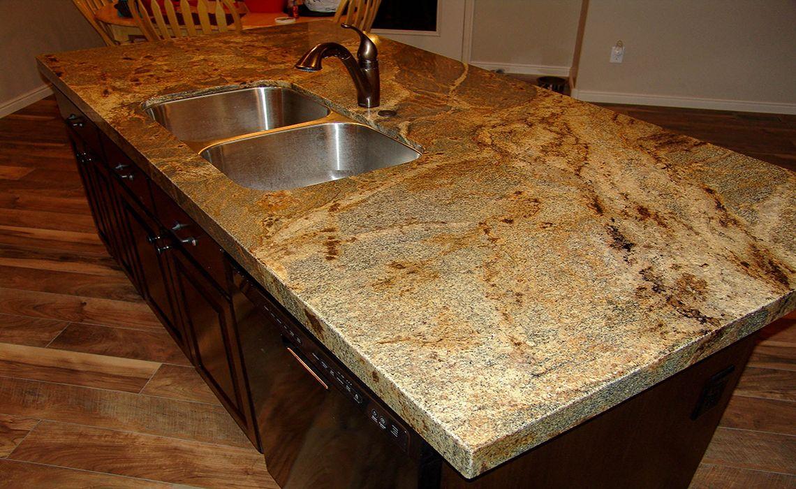 Kitchens With Lapidus Granite Countertops : Lapidus granite with mitered edge kitchen pinterest