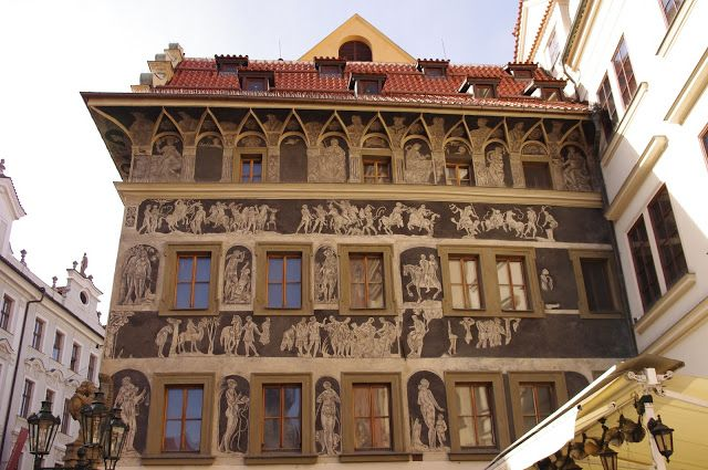 U Minuti (The Minute) House, Old Town, Prague. Former home of Franz Kafka.