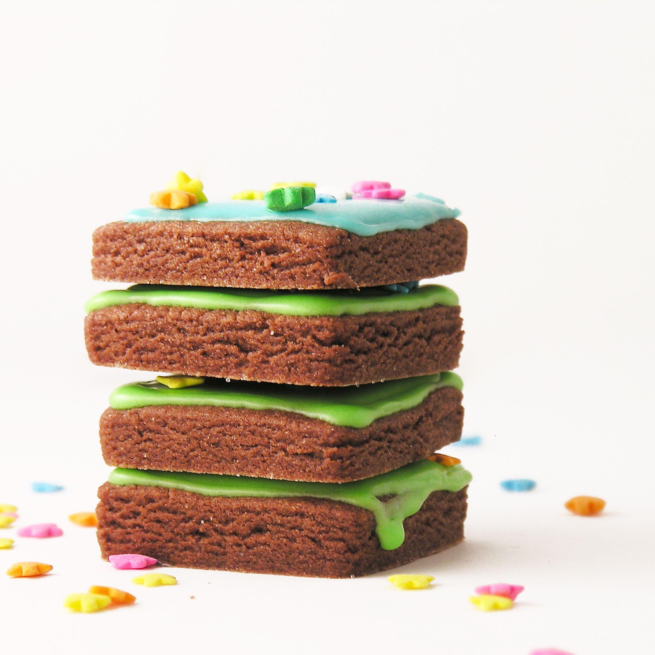 Crossword cookies desserts chocolate recipes