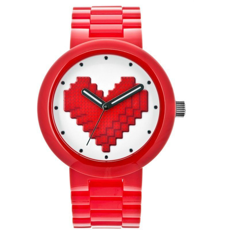 LEGO Be Mine Adult Watch | Red