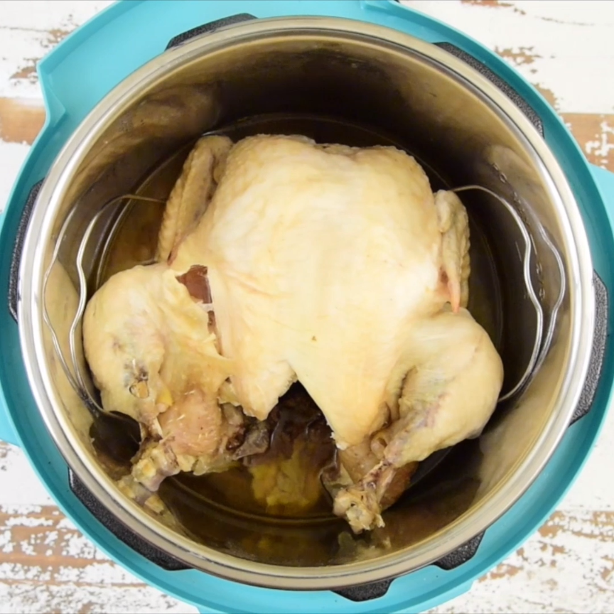 This Is How To Cook A Pressure Cooker Frozen Whole Chicken