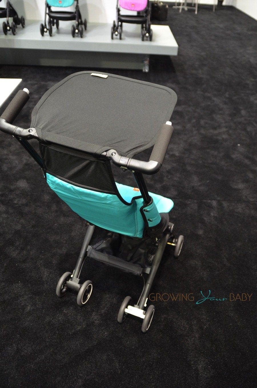 Zuzu Tandem Stroller Gb Debuts Their Ultra Light Compact Pockit Stroller In