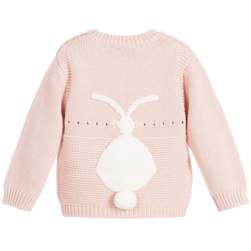 Organic Cotton Knit Baby Sweater | Stella mccartney kids, Baby ...