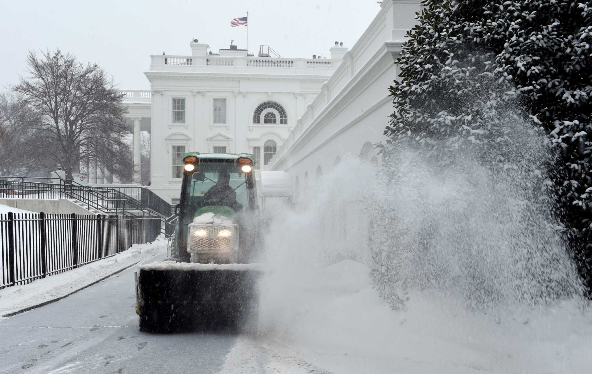 Another winter storm hits east coast cold temps coming