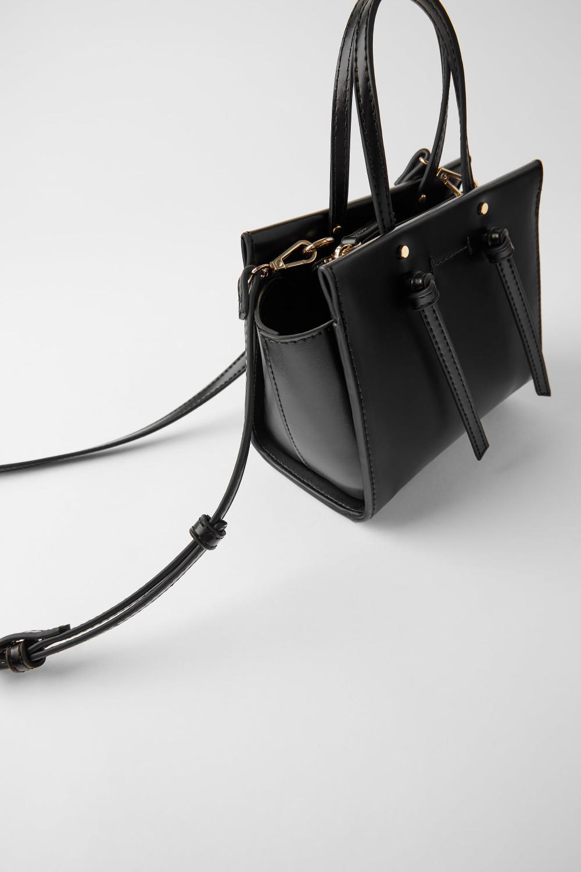 Mini sac de ville avec nœuds en 2020   Mini sac, Sac de