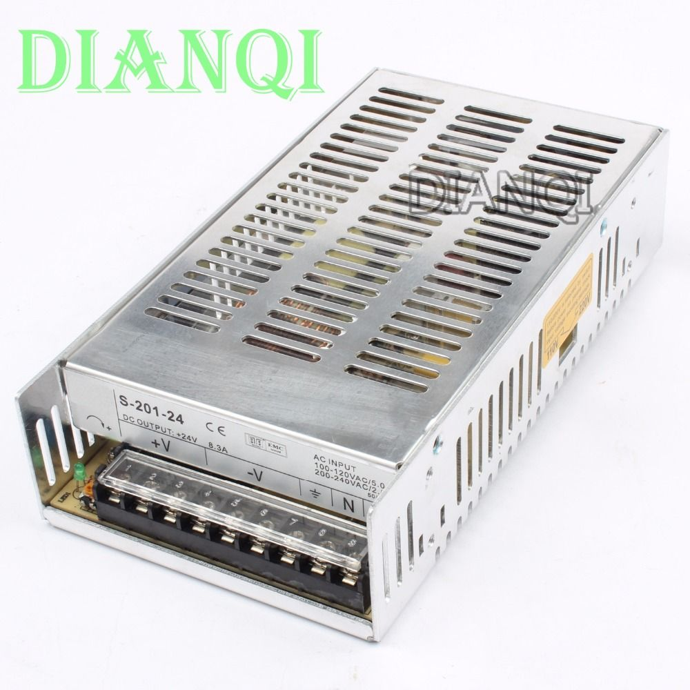 Dianqi S 201 24 Led Power Supply Switch 201w 24v83a Ac Dc Converter 0 300v Variable High Voltage Suply To Quality