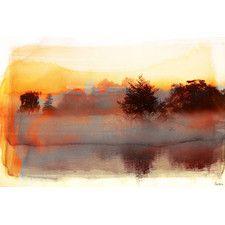 Pine Ridge Art Print Wrapped on Canvas