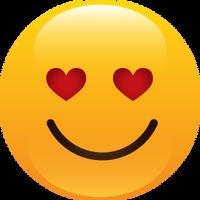 Smiley Amoureux Bisous Coeur Image Gif Anime