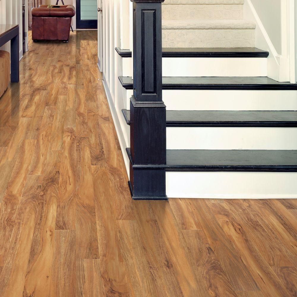 Hampton Bay Natural Palm 8 Mm Thick X 5 In Wide X 47 3 4 In Length Laminate Flooring 318 24 Sq Ft Pallet Hl83 24 The Home Depot Flooring Laminate Flooring Mahogany Flooring