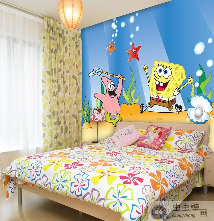 Merveilleux Online Buy Wholesale Spongebob Wallpaper For Rooms From China
