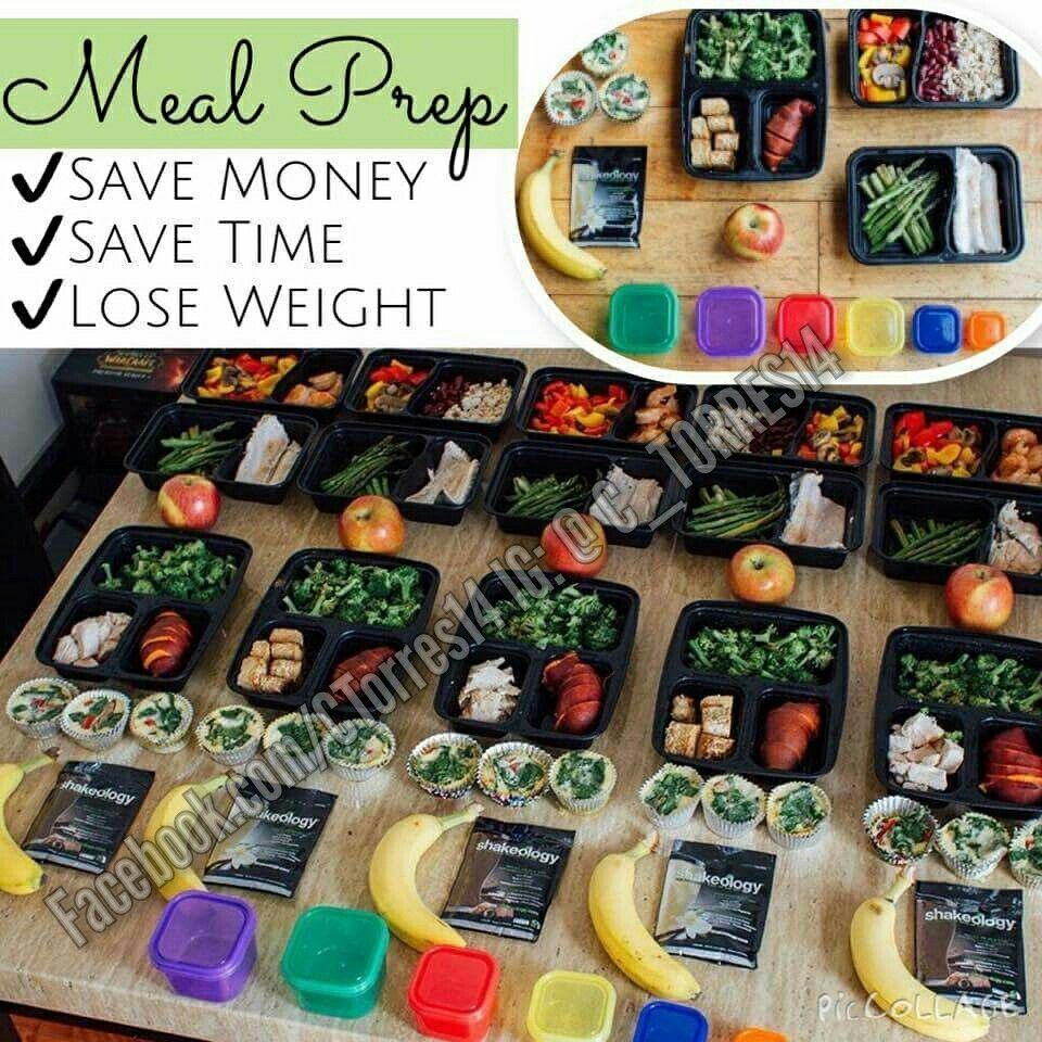 Meal prep on Sundays. 80% of your weightloss is your eating habits!