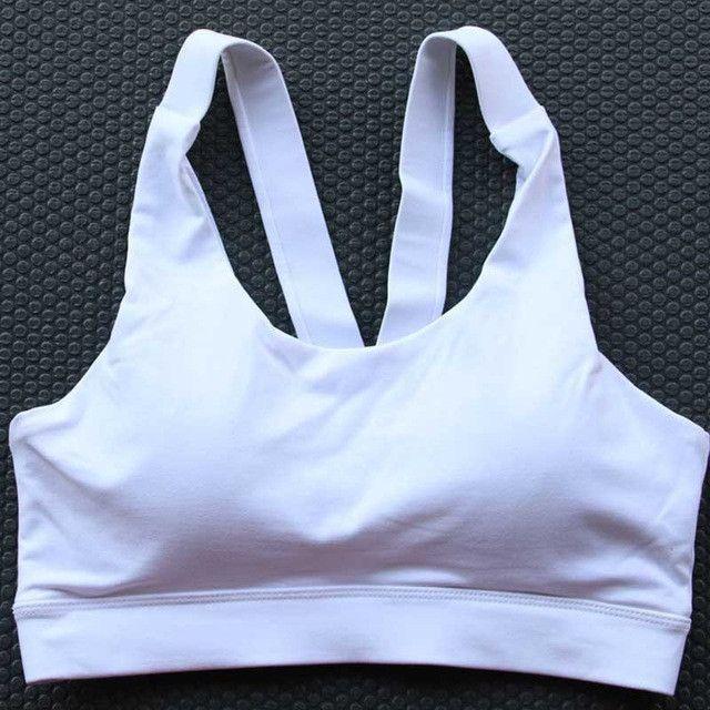 HEAL ORANGE Sports Bra Women Underwear Brassiere Soutien Gorge Sport Femme Fitness Sport Top Fitness Women Yoga Bra With Pad