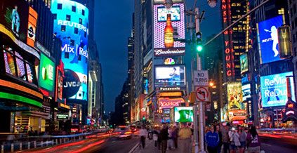 time square new york ny investment advice stock quotes