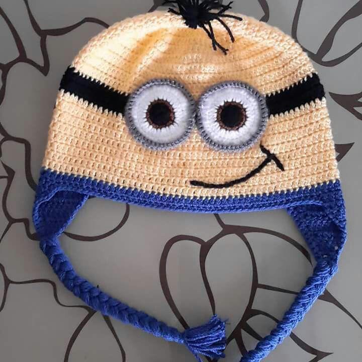 Minion hat handmade | handmade by Arzu Ercen | Pinterest