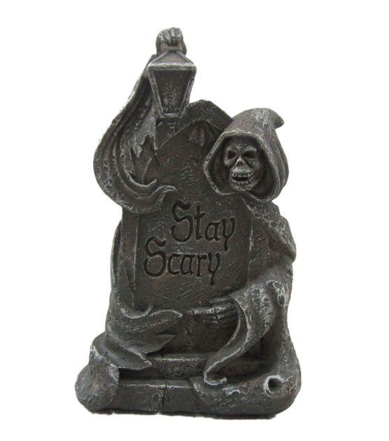 Fairy Garden Halloween Stay Scary Tombstone