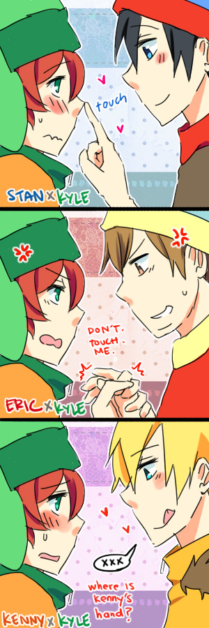 Kyle Pairings By Azngirllh On Deviantart- Which Do You -3293
