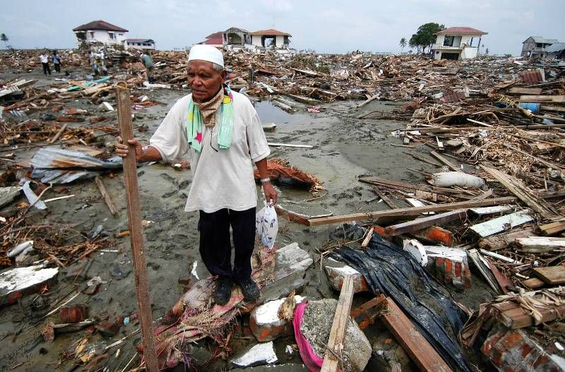 In the early morning of December 26, 2004, an earthquake