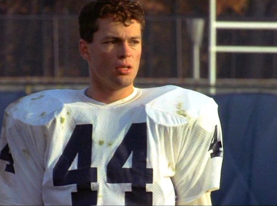 Yes, that is a young Vince Vaughn in RUDY   Interesting