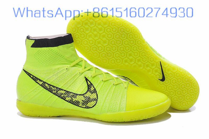 quality design 1a574 e8c04 Nike Mercurial Superfly IC Yellow Black