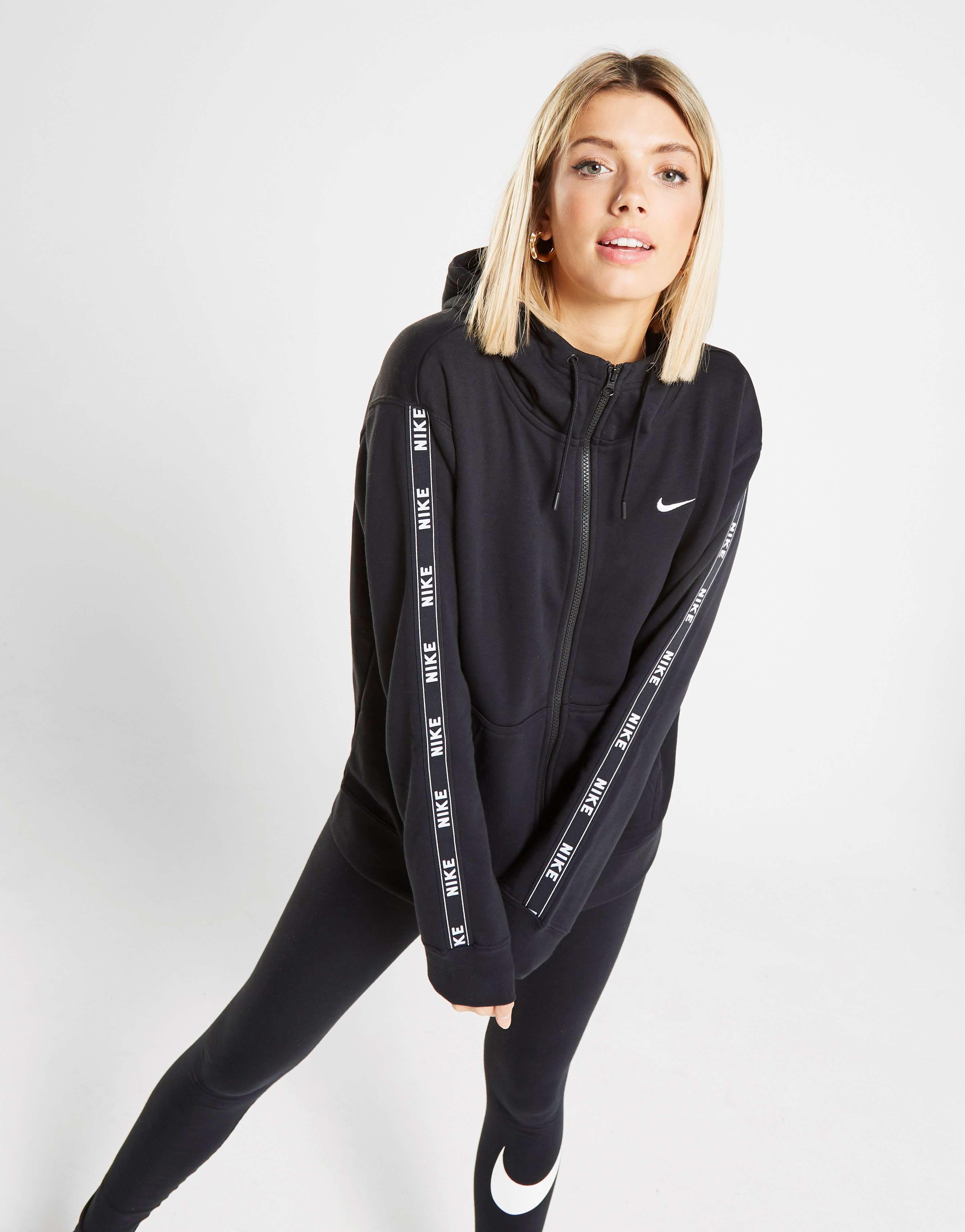 Nike Tape Full Zip Hoodie in 2019 | Full zip hoodie, Nike