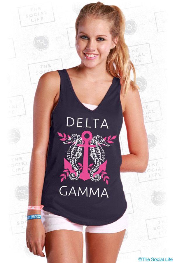 Delta Gamma #DG #DeltaGamma #BreastCancerAwareness #Anchor