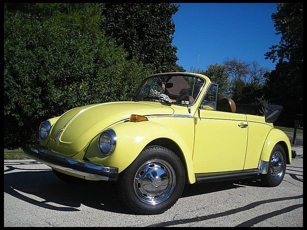 1979 volkswagen super beetle convertible for sale by mecum auction german cars pinterest. Black Bedroom Furniture Sets. Home Design Ideas