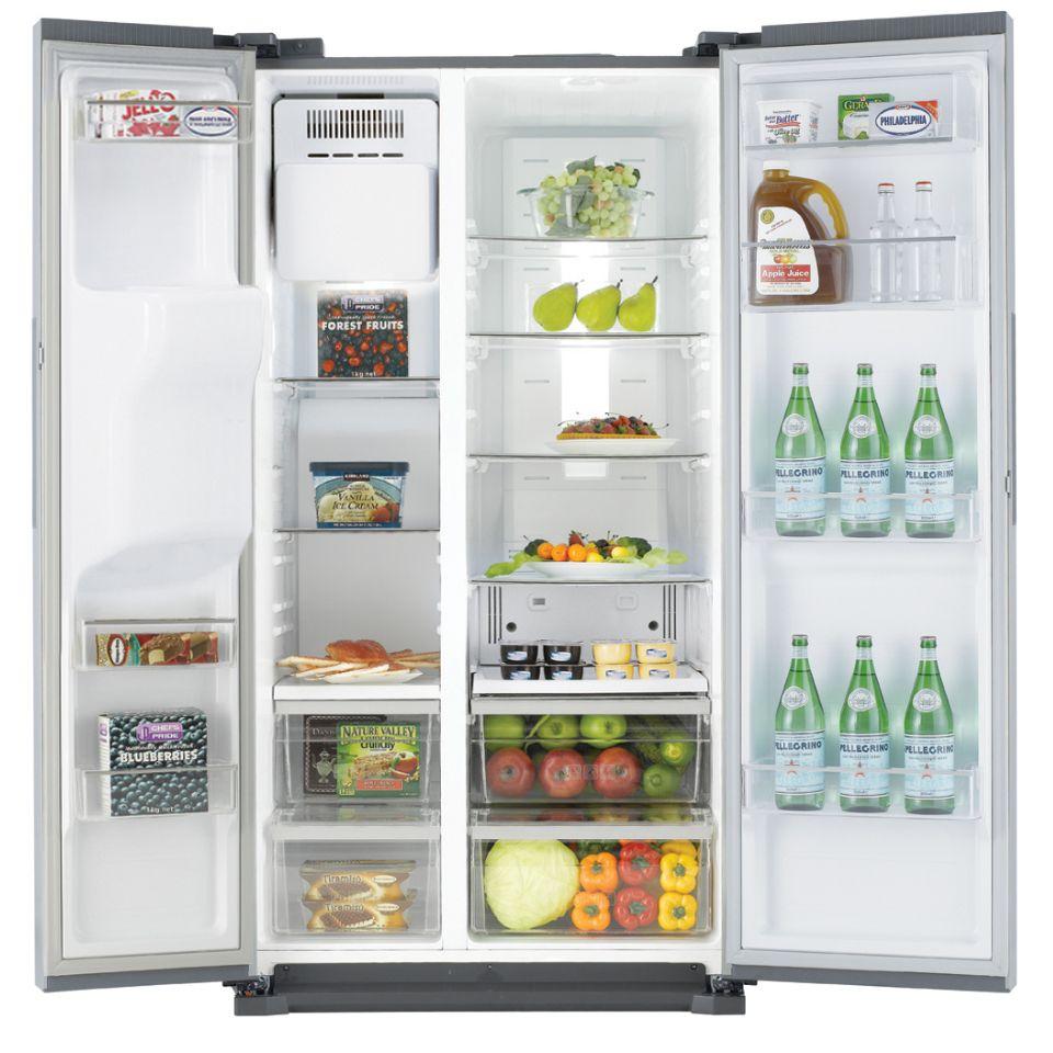 John Lewis Kitchen Appliances Samsung Side By Side Rs7567thcsp Xee 1789 Cm Hvitevarer