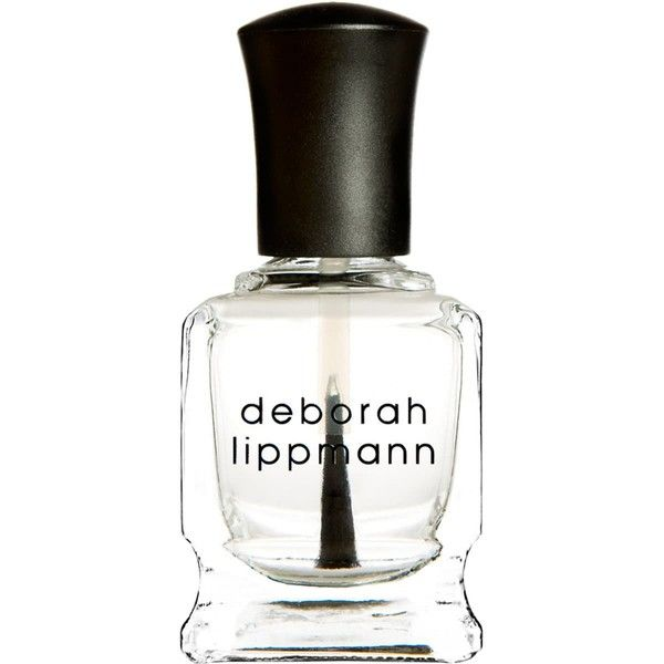 Deborah Lippmann Women's Hard Rock (78 RON) ❤ liked on Polyvore featuring beauty products, nail care, nail polish, nails, beauty, no color, gel nail polish, deborah lippmann nail polish, deborah lippmann nail lacquer and deborah lippmann nail color