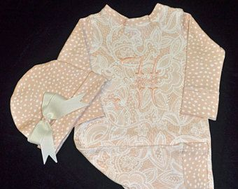 Personalized Custom Made Baby Outfit Upscale Baby Outfit Designer