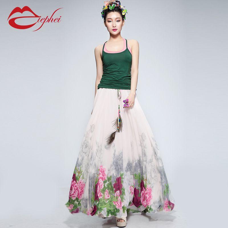 17 Best images about Long summer dress on Pinterest | Chiffon maxi ...