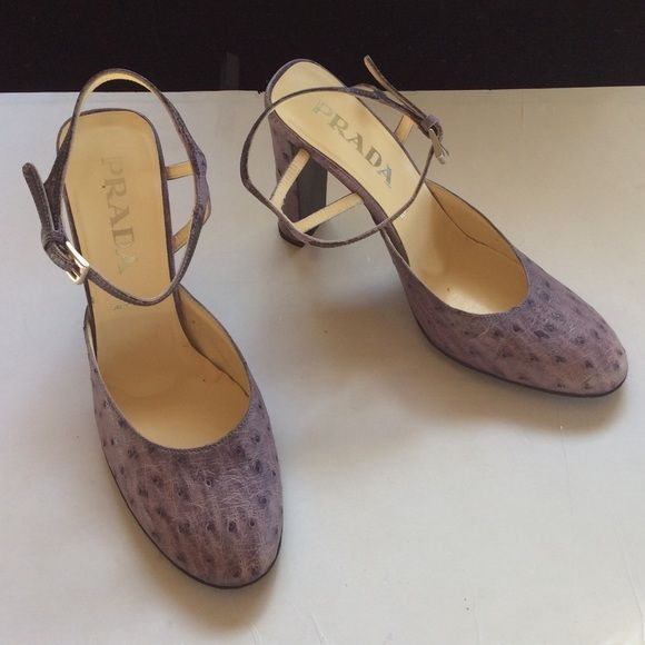 Prada Ostrich Heels For Nice Cheap Online Outlet Release Dates Latest Collections Cheap Online Cheap Sale Find Great Buy Cheap Enjoy is71d