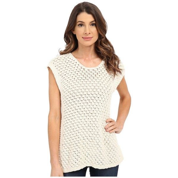 Bobeau Open Weave Sweater Women's Sweater ($78) ❤ liked on ...