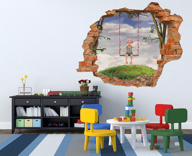 Vinilos 3d decora tu pared originales vinilos infantiles - Vinilos infantiles originales ...