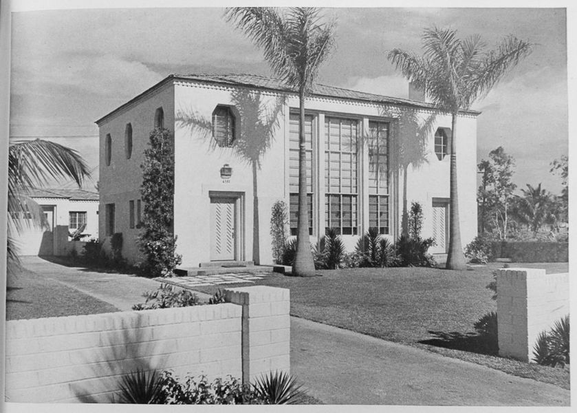 great art deco house on alton saved from wrecking ball miami beach