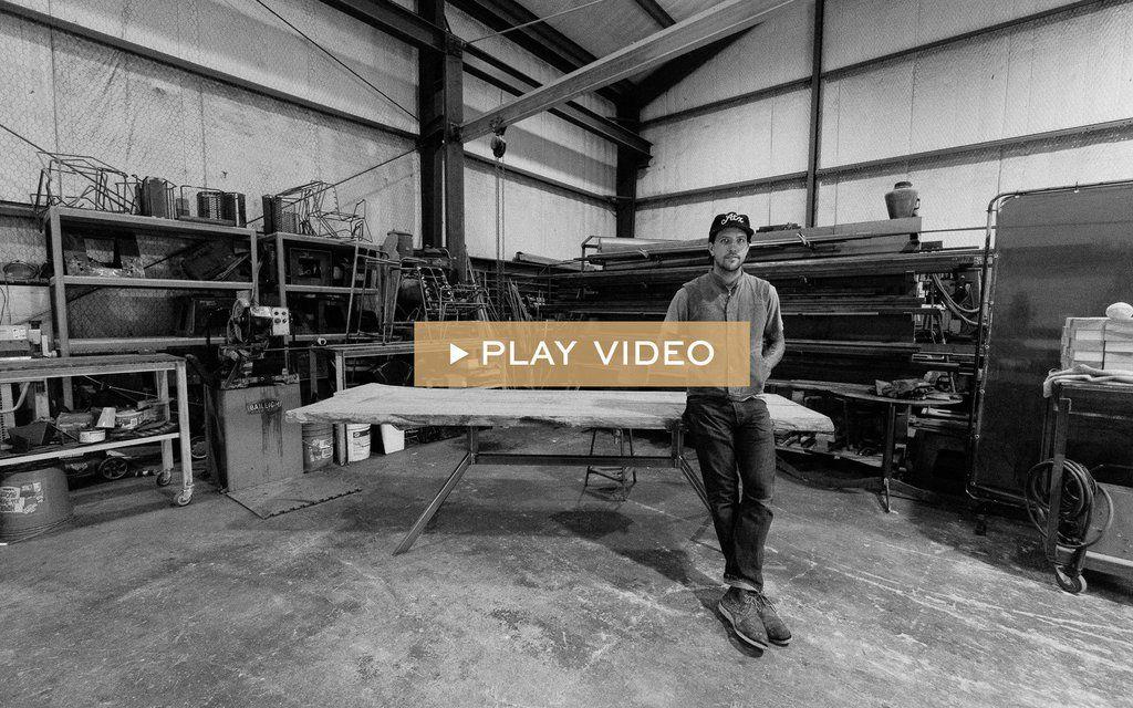 Industrial Furniture Makers   Petrified Designs   Austin Tx