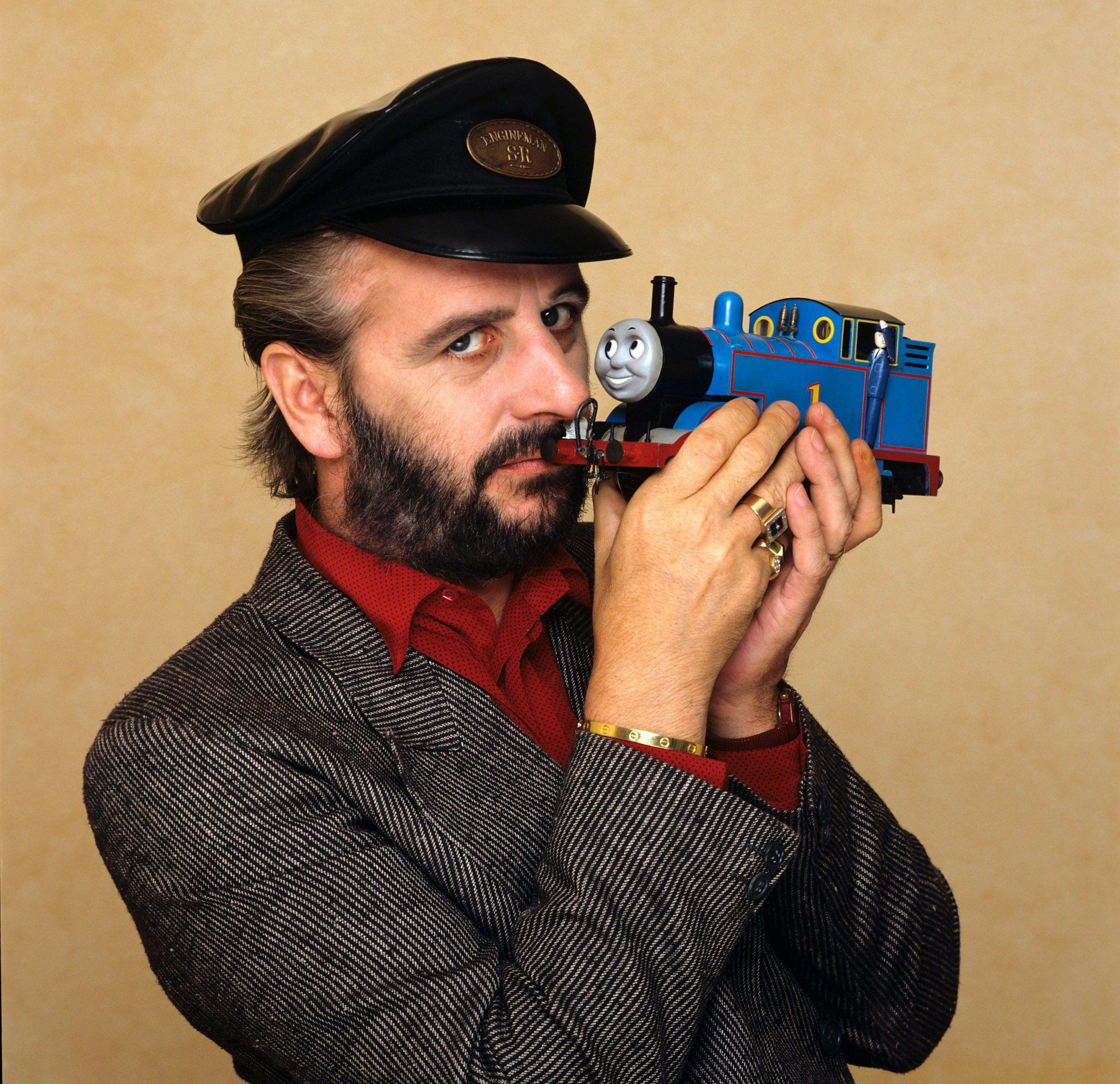 Narrator Ringo Starr And Thomas The Tank Engine 1980 Picture ITV REX Shutterstock