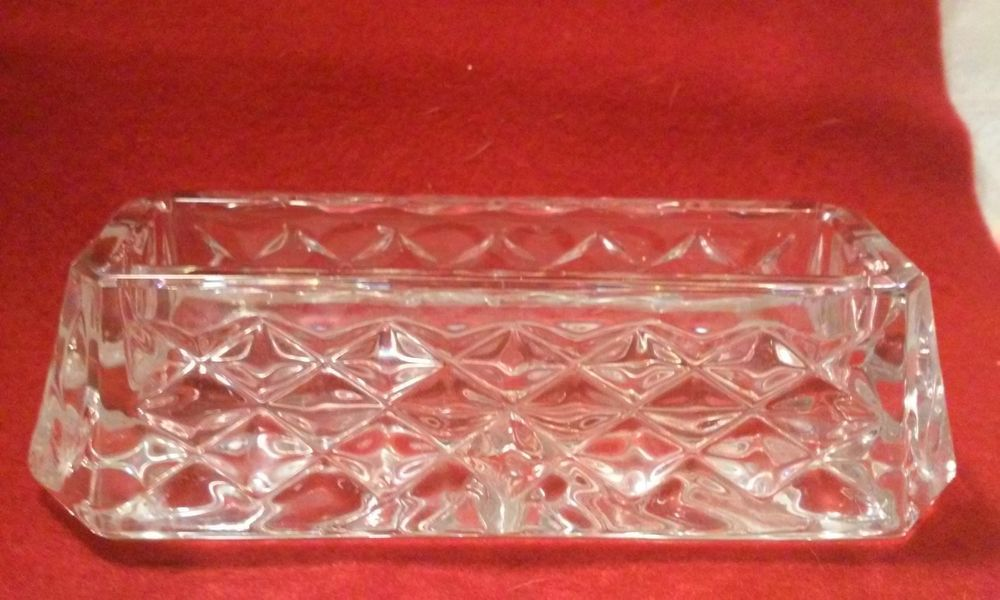 Waterford Crystal, Business Card Holder, Westover Pattern | eBay ...