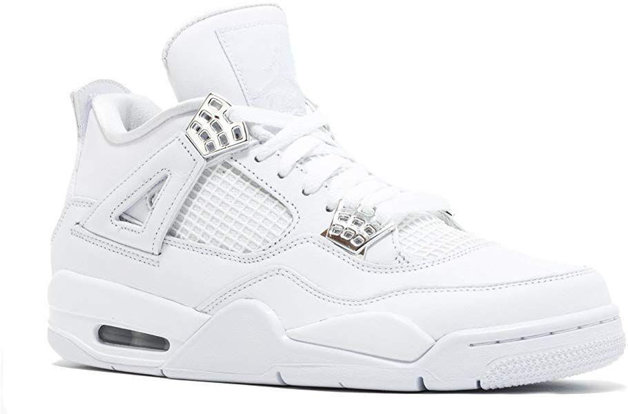 27261074e20aa Amazon.com   NIKE Air Jordan IV 4 Retro Pure Money 308497-100 US ...