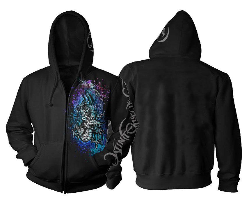 Wintersun Dragon Zip Hoodie for $45.00 jsrdirect