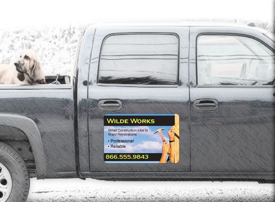 Car Magnets Magnetic Signs Car Door Magnets Vistaprint Ad - Custom car door magnet signs