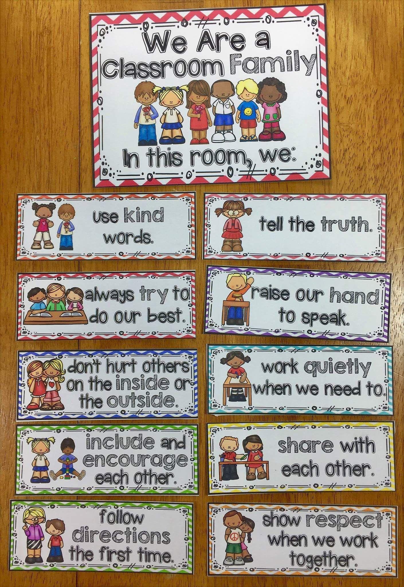 Classroom Family Expectations