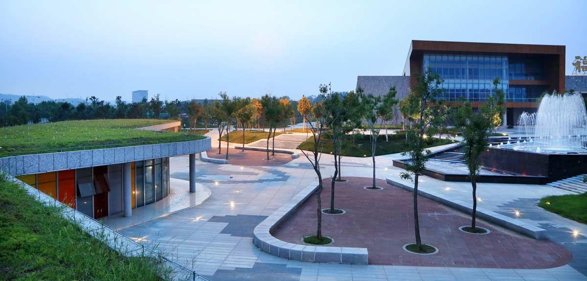 Cultural Plaza Park 09 Landscape Architecture Works Landezine Landscape Architecture Modern Landscaping Architecture