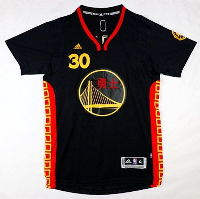 ffb385e476d ... australia nba golden state warriors monkey year 30 stephen curry  chinese new year 2016 jersey black ...