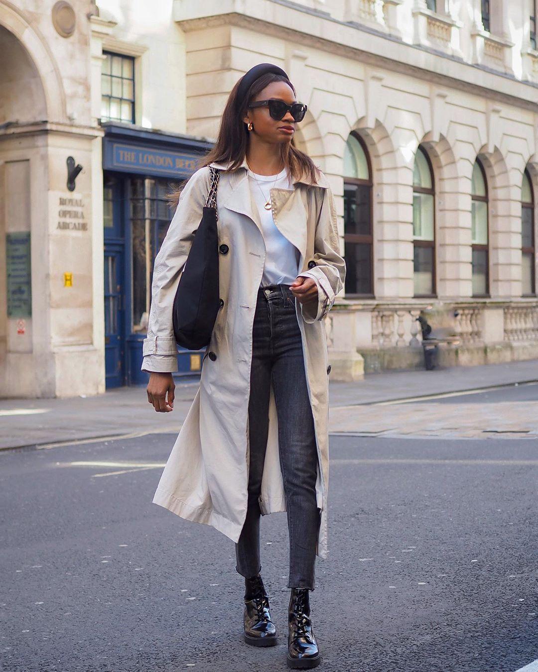 "LORNA | SYMPHONY OF SILK on Instagram: ""Trench coat days"