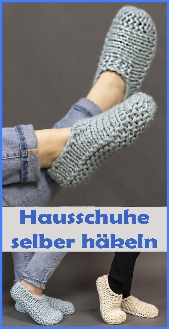 Photo of Häkelschuhe – einfache Anleitung für Anfänger –  Mit diesen gehäkelten Hauss…