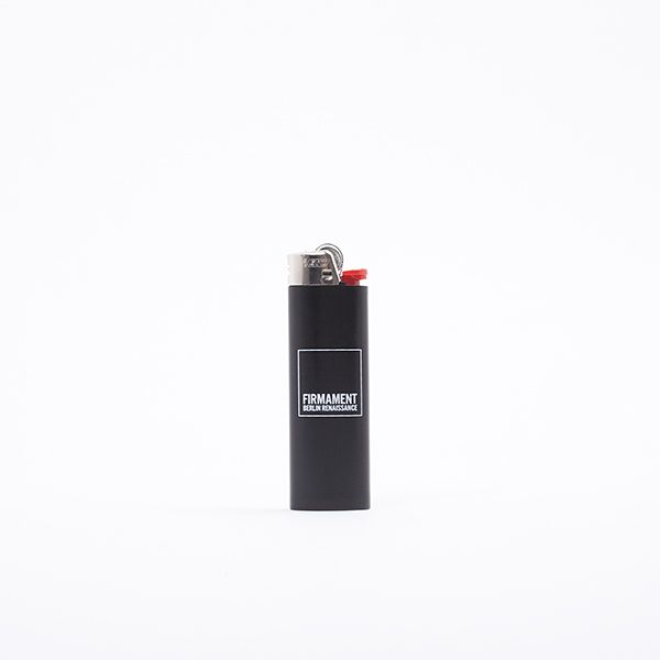 Firmament Logo Lighter - Light it up. A premium lighter by BIC featuring a Firmament logo print on both side.  You can never have enough lighters.