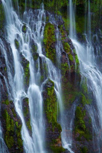 Burney Falls http://www.beautifulvacationspots.com/ #waterfall #photography #print #Burney #falls #nature #scenery #art #outdoors
